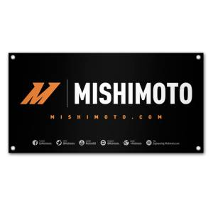 Apparel & Accessories - Misc. Accessories - Mishimoto - FLDS Mishimoto Promotional Banner, Medium MMPROMO-BANNER-15MD