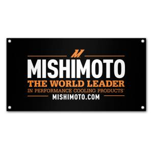 Apparel & Accessories - Misc. Accessories - Mishimoto - FLDS Mishimoto Promotional Banner, World Leader MMPROMO-BANNER-WLDRMD