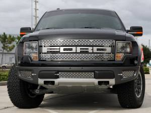 American Car Craft Grille Lower Front Polished 3pc 772010