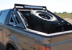 Bed Accessories - Ladder/Headache Racks - Addictive Desert Designs - GGVF Venom Chase Rack C015152600103