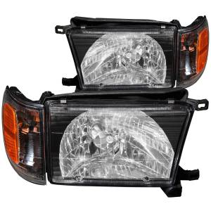 Lighting - Headlights - ANZO USA - ANZO USA Crystal Headlight Set 111077