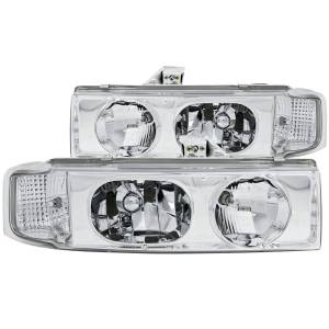 Lighting - Headlights - ANZO USA - ANZO USA Crystal Headlight Set 111001