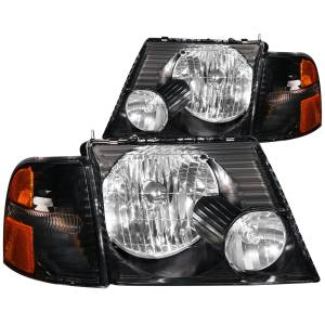 Lighting - Headlights - ANZO USA - ANZO USA Crystal Headlight Set 111071
