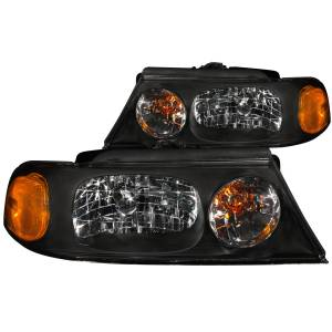 Lighting - Headlights - ANZO USA - ANZO USA Crystal Headlight Set 111046