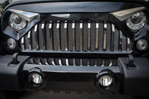 Exterior - Grilles - American Car Craft - American Car Craft Front Lower Chrome Mesh Grille 142040