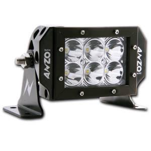 Lighting - Light Bars - ANZO USA - ANZO USA Rugged Vision Off Road LED Light Bar 881025
