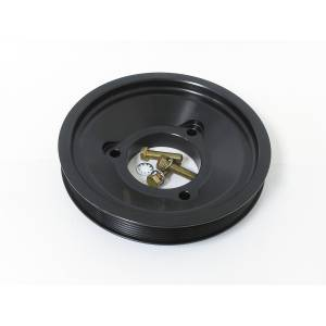 Fluidampr - Fluidampr Alternator Pulley - Dual Belt - 7 Rib - 5 Rib - Ford 6.0L PowerStroke - Each 717675