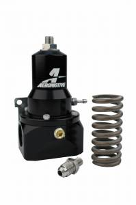 Fuel System - Fuel System Parts - Aeromotive Fuel System - Aeromotive Fuel System 30-120psi, .313 Valve,(2) AN-10 inlets, AN-10 Bypass 13134