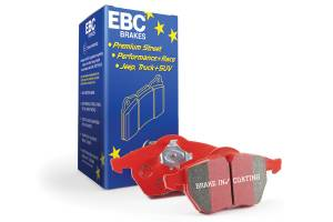 EBC Brakes Low dust EBC Redstuff is a superb pad for fast street use. DP31853C