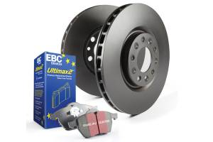 EBC Brakes - EBC Brakes OE Quality replacement rotors, same spec as original parts using G3000 Grey iron S1KF1776