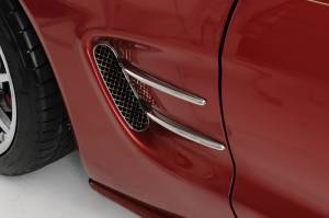 Exterior - Fenders & Flares - American Car Craft - American Car Craft Spears Chrome Retro Side 4pc 032048