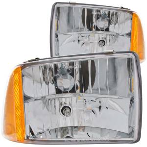 Lighting - Headlights - ANZO USA - ANZO USA Crystal Headlight Set 111078