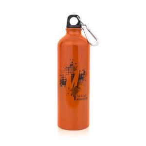 Apparel & Accessories - Misc. Accessories - Mishimoto - FLDS Mishimoto Aluminum 24 oz. Water Bottle, Splat Design MMPROMO-BOTL-SPLAT