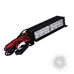 Oracle Lighting - Oracle Lighting ORACLE 12 LED Interceptor Strobe - White 3502-001