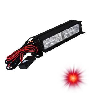 Oracle Lighting - Oracle Lighting ORACLE 12 LED Interceptor Strobe - Red 3502-003
