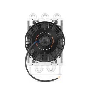 Mishimoto - FLDS Mishimoto Heavy Duty Transmission Cooler W/ Electric Fan MMOC-F - Image 1