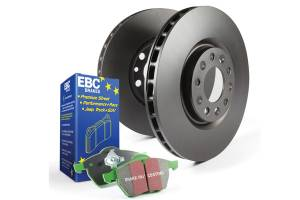 EBC Brakes - EBC Brakes Greenstuff 2000 series is a high friction pad designed to improve stopping power S11KF1255