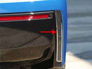 Exterior - Body Kits - American Car Craft - American Car Craft Rear Valance Vents Laser Mesh 2pc 052003