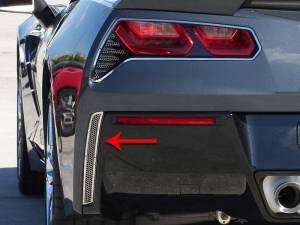 Exterior - Body Kits - American Car Craft - American Car Craft Rear Valance Vents Matrix Alumi-Steel Series 2pc 052004