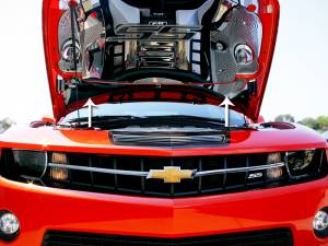 Hoods & Accessories - Hood Parts and Accessories - American Car Craft - American Car Craft Lower Hood Cowl Polished 103003