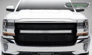T-Rex - T-Rex Stealth Torch Grille, Black, Mild Steel, 1 Pc, Replacement 6311271-BR - Image 2