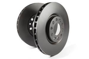 EBC Brakes - EBC Brakes OE Quality replacement rotors, same spec as original parts using G3000 Grey iron RK1576