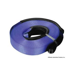 Winch & Recovery - Winches - Westin - Westin Winch Extension Strap Blue 3 1/8 in x 66 ft; 17;500 lbs 47-3214