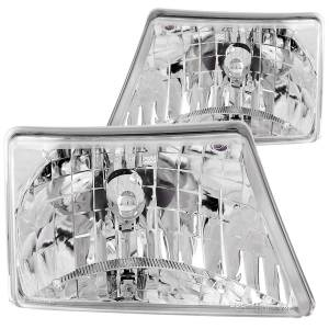 Lighting - Headlights - ANZO USA - ANZO USA Crystal Headlight Set 111037