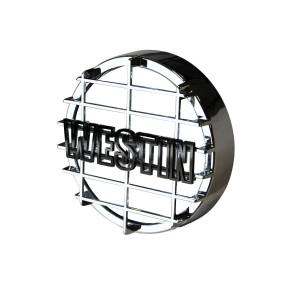 Lighting - Fog Lights - Westin - Westin 6 in Quartz-Halogen Off-Road Light Cover (Chrome Grid Only) 09-0500C