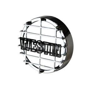 Westin 6 in Quartz-Halogen Off-Road Light Cover (Chrome Grid Only) 09-0500C