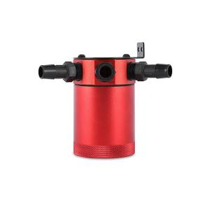 Mishimoto - FLDS Mishimoto Compact Baffled Oil Catch Can, 3-Port MMBCC-MSTHR-RD - Image 2