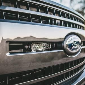 "RIGID Industries - RIGID Industries 2018+ Ford F-150 Grille Mount fits 2 RIGID 6"" SR-Series LED light bars. 41675"