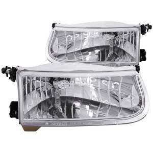 Lighting - Headlights - ANZO USA - ANZO USA Crystal Headlight Set 111038