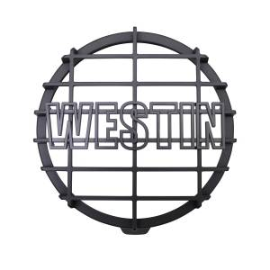 Lighting - Fog Lights - Westin - Westin 6 in Quartz-Halogen Off-Road Light Cover (Black Grid Only) 09-0505C
