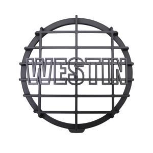 Westin 6 in Quartz-Halogen Off-Road Light Cover (Black Grid Only) 09-0505C