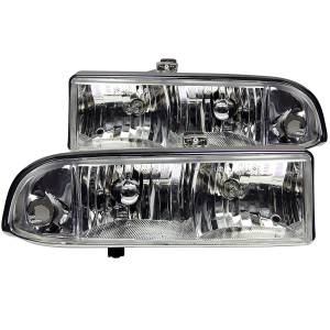 Lighting - Headlights - ANZO USA - ANZO USA Crystal Headlight Set 111014