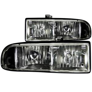 Lighting - Headlights - ANZO USA - ANZO USA Crystal Headlight Set 111156