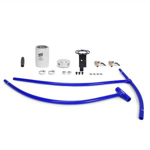 Engine Cooling - Cooling Parts - Mishimoto - FLDS 03-07 Ford 6.0L Powerstroke Engine Coolant Filter Kit MMCFK-F2D-03BL