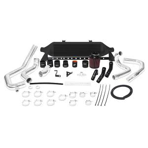 Mishimoto - FLDS Subaru WRX STI front-mount intercooler kit, W/Air Box, Black MMINT-STI-08AIBK - Image 1