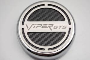 American Car Craft Cap Cover Set 5pc GTS CF White 983003-WHT