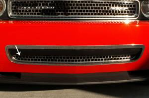 Exterior - Grilles - American Car Craft - American Car Craft Grille Satin Overlay Style Lower 08-10 152015