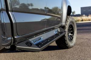 Exterior - Running Boards & Nerf Bars - Addictive Desert Designs - GGVF HoneyBadger Side Steps S357962700103