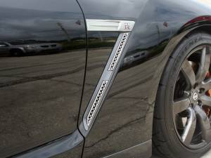 Exterior - Fenders & Flares - American Car Craft - American Car Craft Side Vents Laser Mesh 4pc 162004