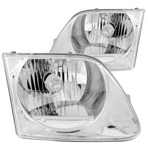 Lighting - Headlights - ANZO USA - ANZO USA Crystal Headlight Set 111030