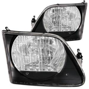 Lighting - Headlights - ANZO USA - ANZO USA Crystal Headlight Set 111083