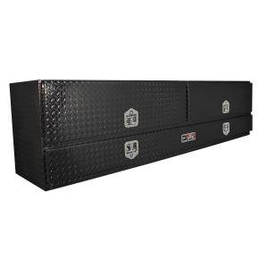 Bed Accessories - Tool Boxes - Westin - Westin Brute High Cap Stake Bed Contractor Box 80-TB400-96D-B