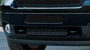 T-Rex - T-Rex Billet Bumper Grille, Black, Aluminum, 1 Pc, Bolt-On 25209B