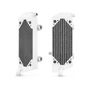 Mishimoto - FLDS KTM 450 SXF / 450 SMR / 450 XCF / 505 SXF / 505 XCF Braced Aluminum Radiator MMDB-KTM5-07LX - Image 1