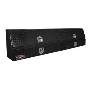 Bed Accessories - Tool Boxes - Westin - Westin Brute Contractor TopSider Tool Box 80-TBS200-90D-BD-B