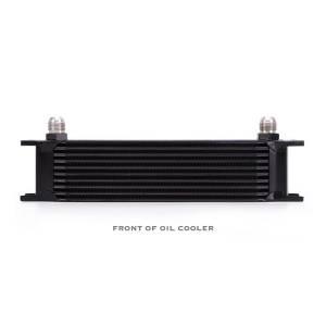 Mishimoto - FLDS Universal 10 Row Oil Cooler, Black MMOC-10BK - Image 1